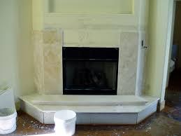 granite or slate fireplace surround