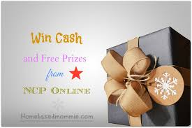 win cash and free prizes from ncp