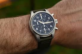 IWC Pilot's Watch Chronograph Spitfire Steel 41mm IW387901 - SIHH ...