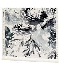 petale wallpaper in indigo kelly ventura