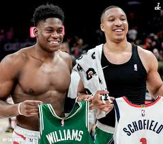 "Washington Wizards on Twitter: ""1️⃣ Admiral Schofield 🤝 Grant Williams  1️⃣2️⃣… """