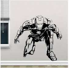 Avengers Superhero Iron Man Window Sticker Vinyl Home Decor Kids Room Boy Bedroom Decals Marvel Comic Murals Removable Poster Cheap Wall Clings Cheap Wall Decal From Onlinegame 13 48 Dhgate Com