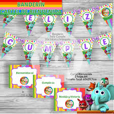 Kit Imprimible Candy Bar Canciones Del Zoo Reino Infantil 200