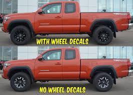 Tacoma 16 Wheel Decal Trd Off Road 2016 Shinegraffix Com