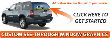Rear Window Decals Rear Window Graphics Car Decals