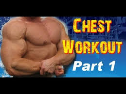 chest workout at the gym for men you