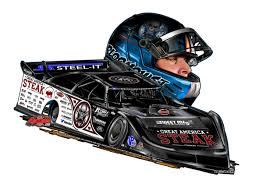 Scott Bloomquist 0 Car Helmet Decal Gotta Race