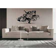 Shop A Man And A Lot Of Shopping Wall Art Sticker Decal Overstock 11371453