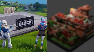 Next Fortnite creation at The Block ...