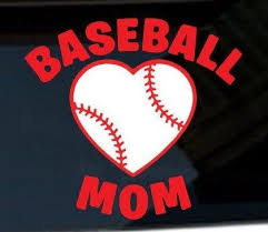 Baseball Mom Vinyl Decal Sports Sticker Baseball Team Etsy In 2020 Computer Decal Phone Case Decals Mirror Decal