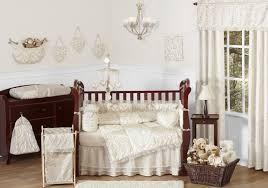 luxury bedding crib set for baby girl