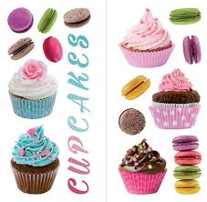Cupcakes And Macarons Wall Decal Set Cupcake Kitchen Decor Bible Wall Decals Wall Decals
