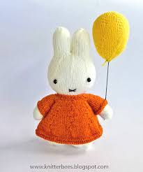 ravelry miffy and her balloon pattern