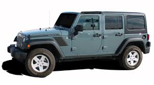 Rundown Jeep Wrangler Hood To Fender Vinyl Graphics Decal Stripe Kit For 2007 2008 2009 2010 2011 2012 2013 2014 2015 2016 2017 Models Moproauto Professional Vinyl Graphics And Striping