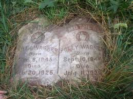 """Mary Russell """"Polly"""" Jackson Wagner (1844-1928) - Find A Grave Memorial"""
