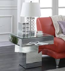 mirrored end tables mirror designs