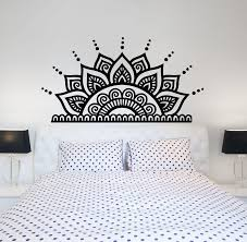 Headboard Wall Decal Sticker Fake King Size Queen Design Picket Fence Bed Removable Vamosrayos