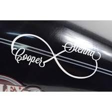 Infinite Love Infinity Car Window Vinyl Decal Sticker Automotive Graphics Decals