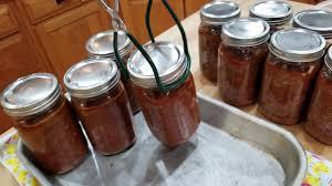 canning semi homemade chili
