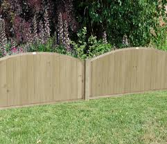 Forest Vertical Domed Top 6 X 4 Ft Fence Panel Gardensite Co Uk