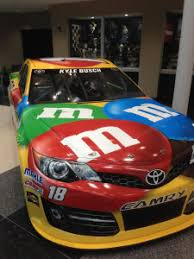 Front Fender Contingency Stickers On Nascar Race Cars