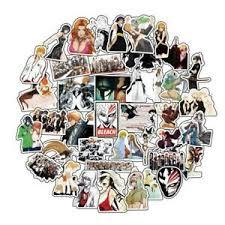 50pcs Anime Bleach Death Ichigo Rukia Stickers For Car Laptop Skateboard Decals Ebay