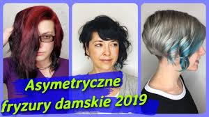 Top 20 Najlepszy Asymetryczne Fryzury Damskie 2019 Youtube