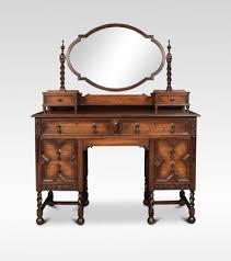 antique oak dressing table for at