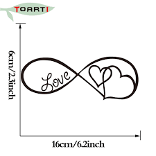 Car Truck Parts Love Forever Infinity Home Decor Car Truck Window Decal Sticker Blog Lomee Ng