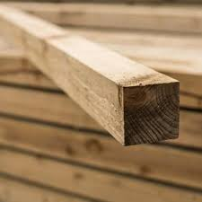 8ft 3 X 3 Pressure Treated Wooden Fence Post Fences Direct