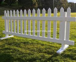 China Cheap White Decorative Pvc Vinyl Picket Garden Outdoor Fence China Vinyl Picket Fence Garden Outdoor Fence