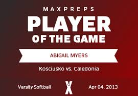 Abigail Myers' (Kosciusko, MS) Awards | MaxPreps