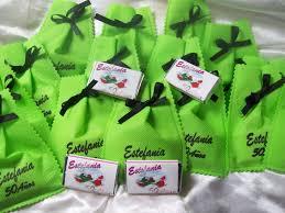 Detalles Para Invitados Bolsitas Y Chocolatines Personalizados
