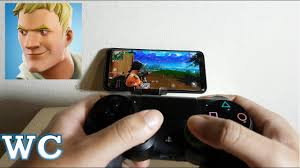 fortnite mobile with ps4 controller