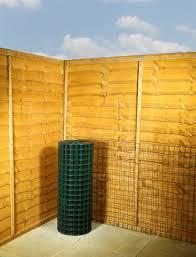 Green Pvc Wire Mesh Fencing 2 X 2 12g 3ft X 25m