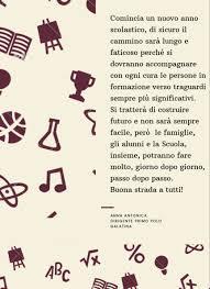 Messaggio di BUON INIZIO Scuola - www.primopologalatina.gov.it