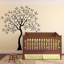 cherry blossom tree baby nursery decal