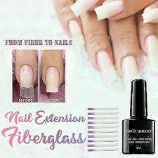 nail art silk fibergl gel extension