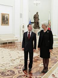 File:RIAN archive 985345 President Dmitry Medvedev meets with managing  director of International Monetary Fund Christine Lagarde.jpg - Wikimedia  Commons