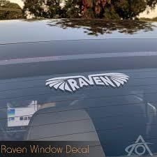 Raven Decals