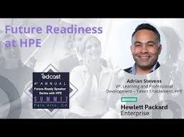 Adrian Stevens: EdCast's Future-Ready Summit - HPE Speaker Series - YouTube