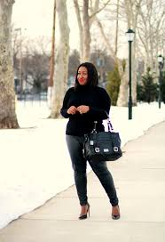faux leather pants curvy fashion