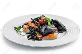 Healthy Italian Seafood Pasta Meal ...