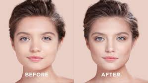 nose look smaller with contouring