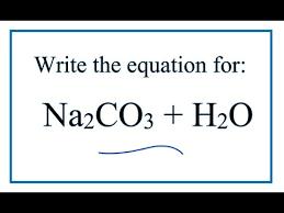 equation for sodium carbonate