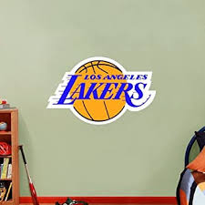 Amazon Com Angeles Lakers Wall Decals Decor Vinyl Stickers Gmo1851 Home Kitchen