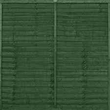 Ronseal One Coat Fence Life Forest Green Fence Paint 12l