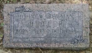 John Wesley Bowman (1829 - 1899) - Genealogy