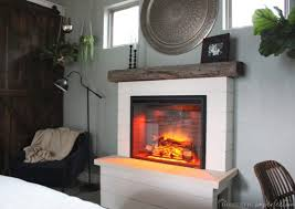 diy electric fireplace domestic