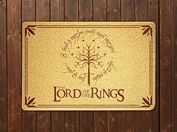 com lord of the rings doormat sweet home supplies decor